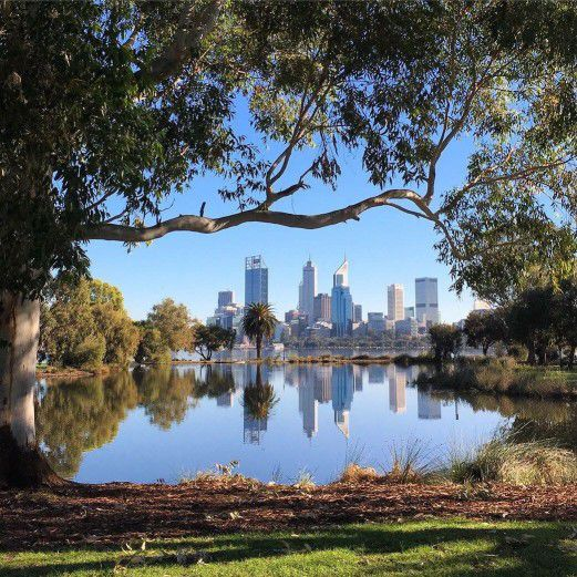 A nice view of Perth City on a Staycation