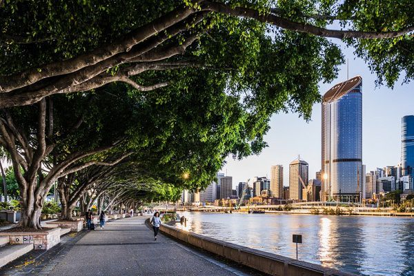 Perfect view of Brisbane on a Staycation stroll