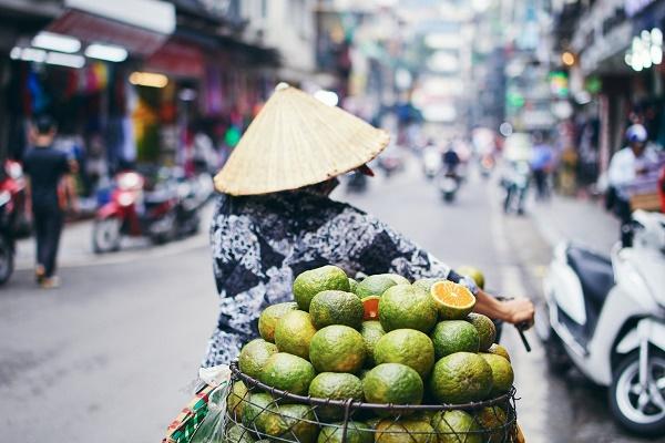 Hanoi old quarter photo